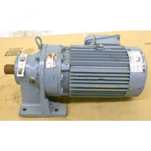SUMITOMO SM-CYCLO INDUCTION GEAR MOTOR CNHM1-6100YC-29, 1 HP, 3 PH, RATIO 29:1 #4 image