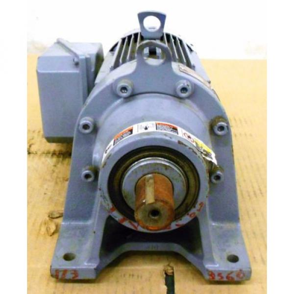SUMITOMO SM-CYCLO INDUCTION GEAR MOTOR CNHM1-6100YC-29, 1 HP, 3 PH, RATIO 29:1 #5 image