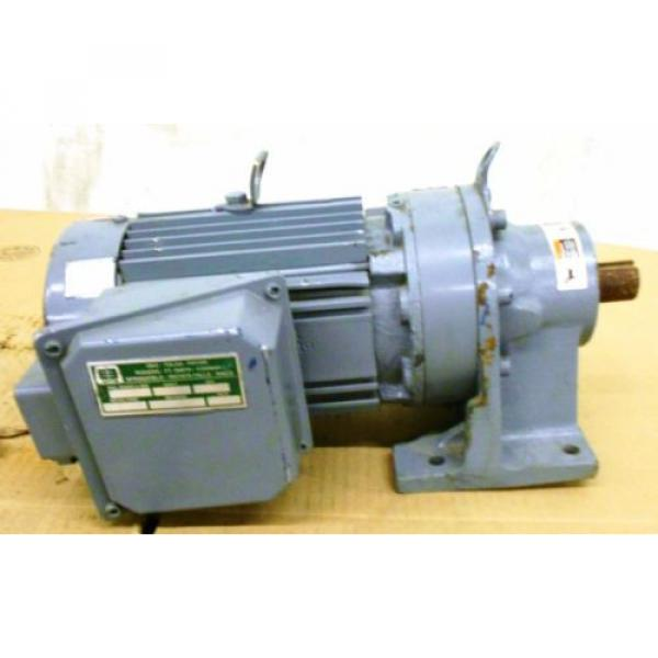 SUMITOMO SM-CYCLO INDUCTION GEAR MOTOR CNHM1-6100YC-29, 1 HP, 3 PH, RATIO 29:1 #6 image