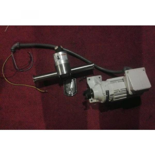 Unibloc-gp sanitary food grade gear pump and sumitomo cnhms05-6075ya-11 motor #1 image