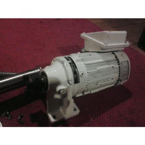 Unibloc-gp sanitary food grade gear pump and sumitomo cnhms05-6075ya-11 motor #3 image
