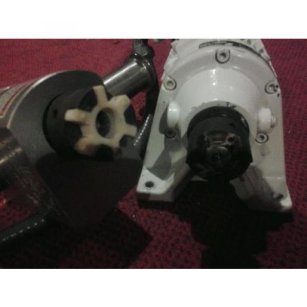 Unibloc-gp sanitary food grade gear pump and sumitomo cnhms05-6075ya-11 motor #4 image