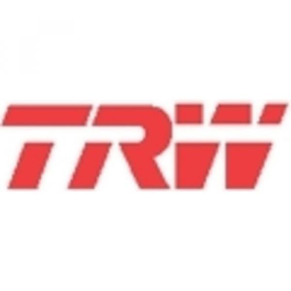 TRW Bremsbackensatz 4 Bremsbacken Trommelbremse Hinten GS8670 #2 image