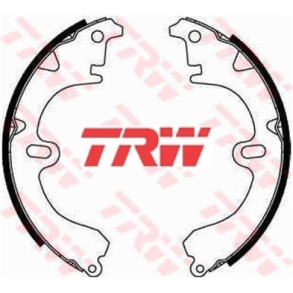 Bremsbackensatz 4 Bremsbacken Trommelbremse TRW GS8224 #1 image