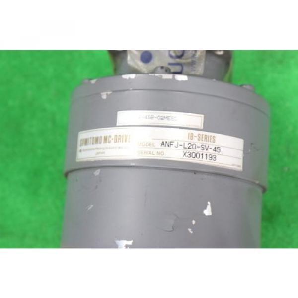 SUMITOMO Used ANFJ-L20-SV-45 Servo Motor Reducer Ratio 45:1 #2 image