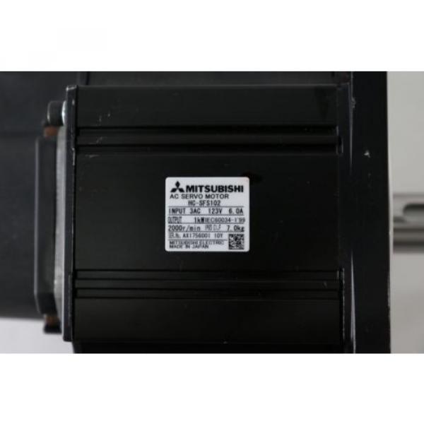 SUMITOMO Reducer F2CS-A35-119 + MITSUBISHI Servo Motor HC-SFS102 #8 image