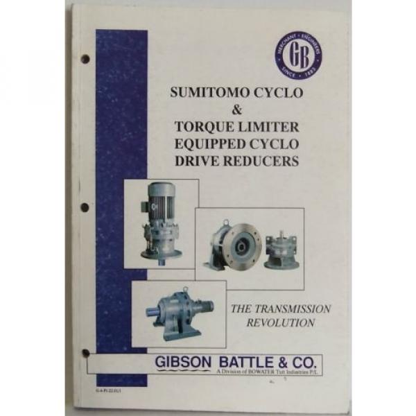 Transmission sumitomo cyclo motor drive reducers product manual spec #1 image