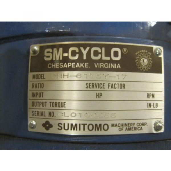 Origin  SUMITOMO SM-CYCLO CCH-6135Y-17 REDUCER CCH6135Y17 #3 image