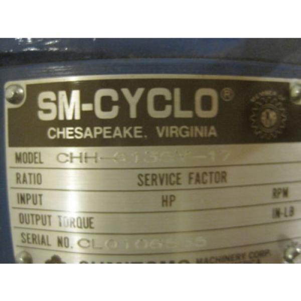 Origin  SUMITOMO SM-CYCLO CCH-6135Y-17 REDUCER CCH6135Y17 #5 image