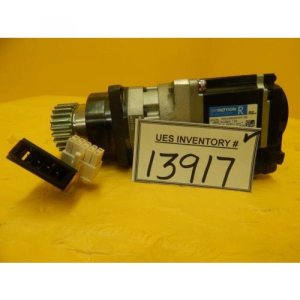 Sanyo Denki R2AA06020FXP77M AC Servo Motor Sumitomo ANFX-P110F-2RL3-9 Used #1 image
