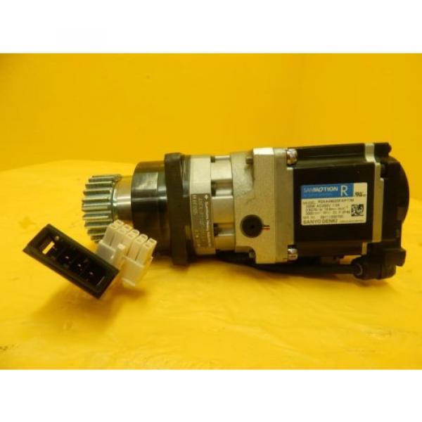 Sanyo Denki R2AA06020FXP77M AC Servo Motor Sumitomo ANFX-P110F-2RL3-9 Used #2 image