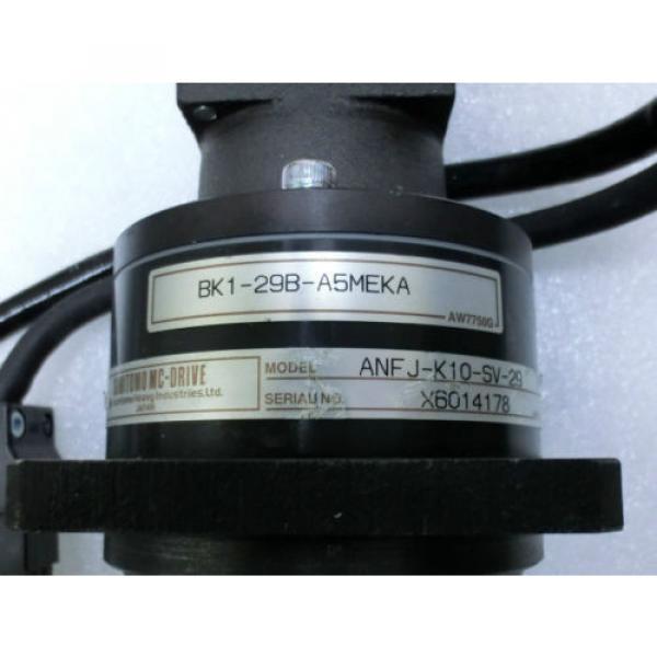 Mitsubishi HC-MFS053G2 AC Servo Motor+Sumitomo ANF J-K10-SV-29 MC-Drive@93282 #2 image