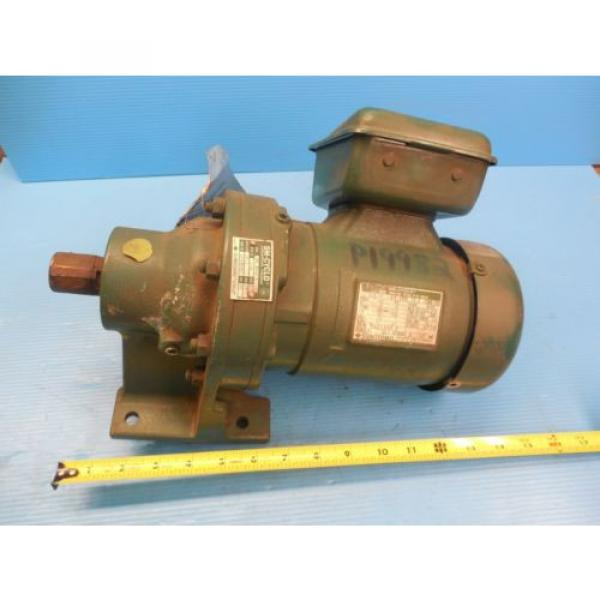 Origin SUMITOMO HMS 3090 A 1/8 HP 3 PHASE INDUCTION MOTOR 1750 RPM INDUSTRIAL #1 image