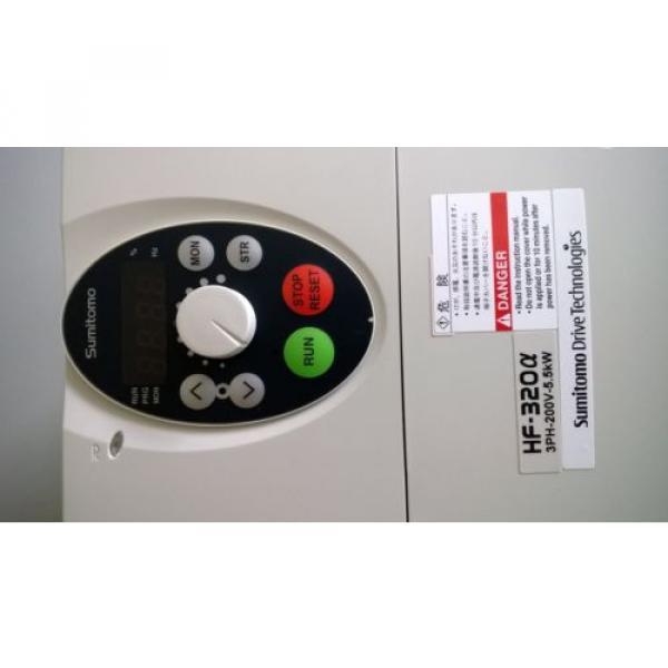 Sumitomo HF-320a Motor Driver Inverters, HF3212-5A5, 55kW-10kVA-75HP #4 image