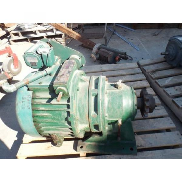 SUMITOMO GEARMOTOR, RATIO 36:1, SM-CYCLO 1/8 HP MOTOR 1730 RPM, 230/460 V USED #1 image