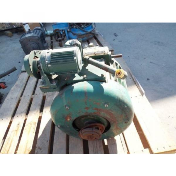 SUMITOMO GEARMOTOR, RATIO 36:1, SM-CYCLO 1/8 HP MOTOR 1730 RPM, 230/460 V USED #4 image