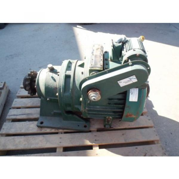 SUMITOMO GEARMOTOR, RATIO 36:1, SM-CYCLO 1/8 HP MOTOR 1730 RPM, 230/460 V USED #5 image