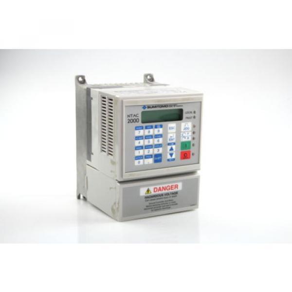 Sumitomo NTAC2000 AC Motor Drive 380-480Vac  NT2014-2A2 3Ph #1 image