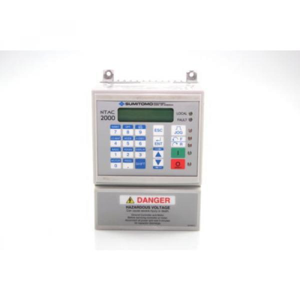 Sumitomo NTAC2000 AC Motor Drive 380-480Vac  NT2014-2A2 3Ph #2 image