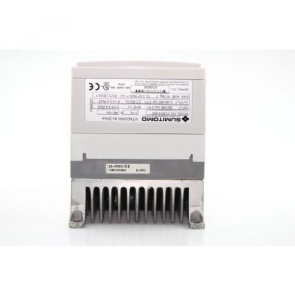 Sumitomo NTAC2000 AC Motor Drive 380-480Vac  NT2014-2A2 3Ph #5 image