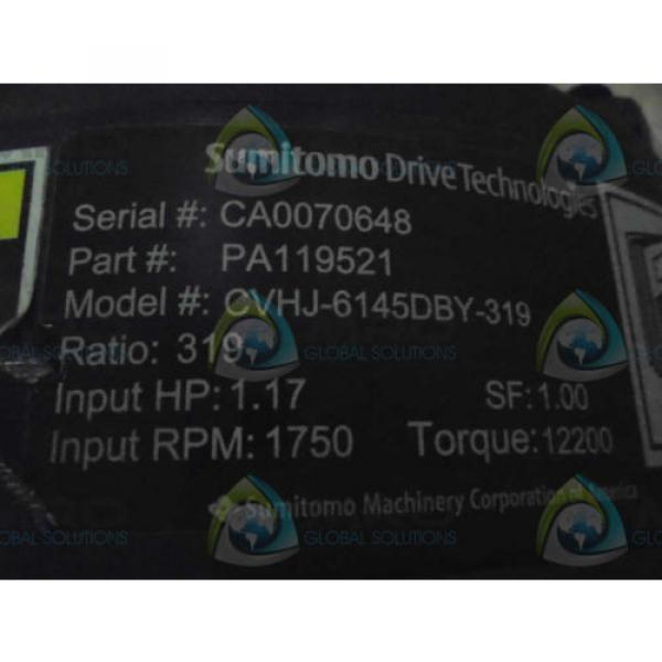 SUMITOMO DRIVE TECHNOLIGIES PA119521 MOTOR  Origin NO BOX #1 image