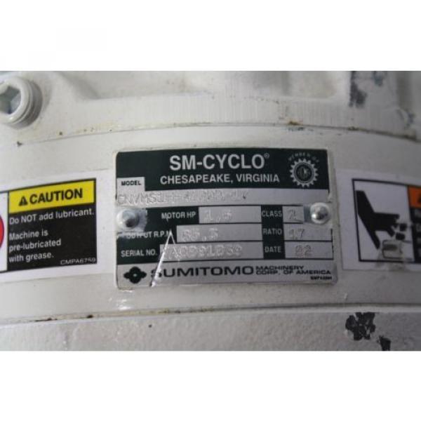 SUMITOMO SM-CYCLO CNVMS02-4100-A-119 GEAR MOTOR 119:1 #2 image