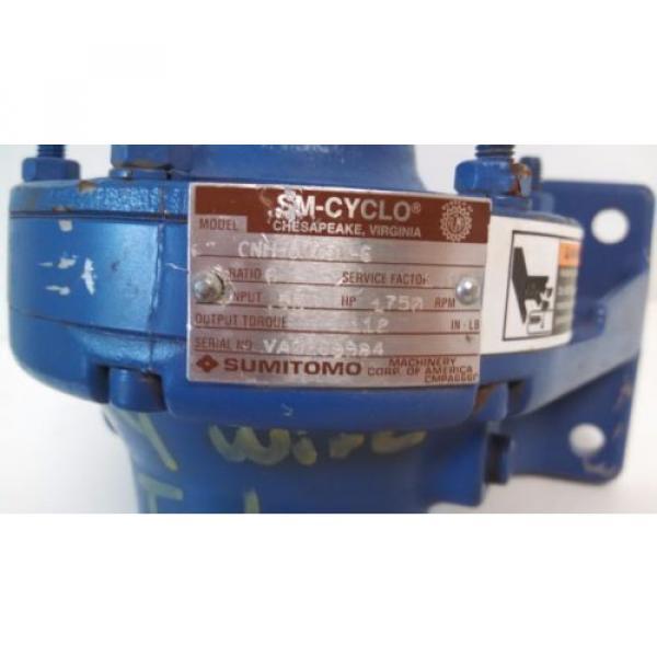 Origin OLD STOCK SM-CYCLO SUMITOMO 1750HP 55 INPUT MOTOR CNH-6075Y-6 #3 image