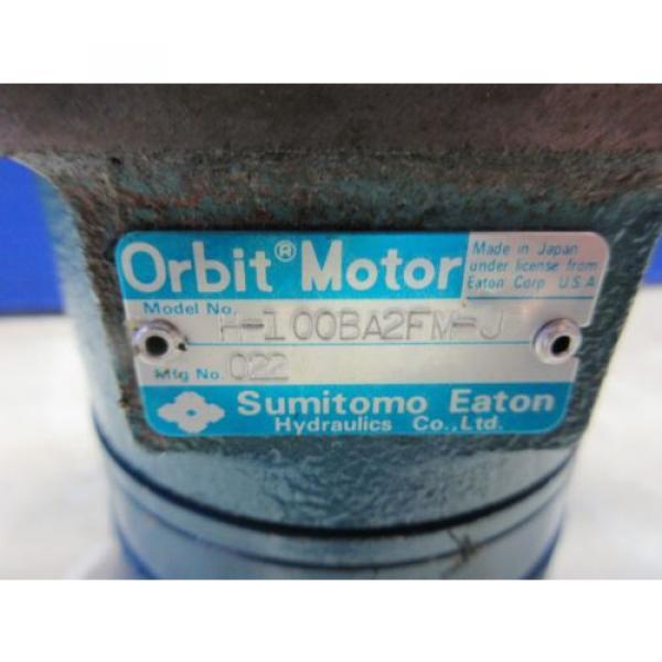 SUMITOMO EATON ORBIT MOTOR H-100BA2FM-J 022 #3 image