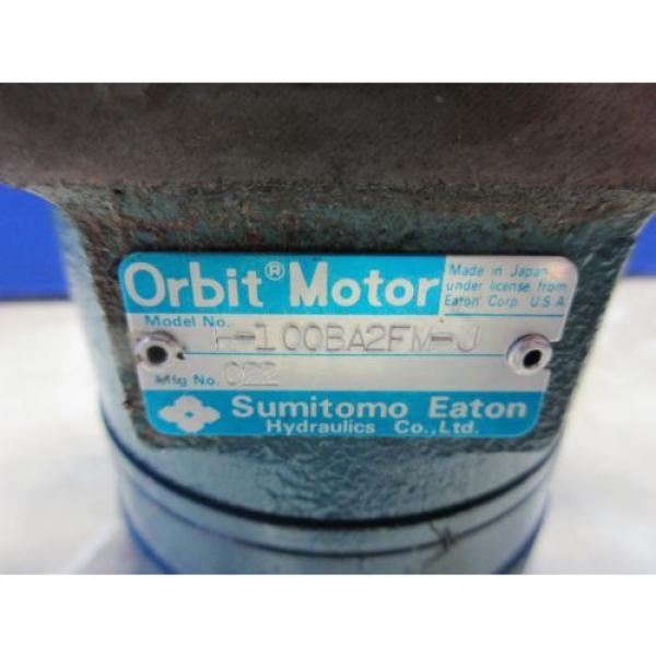 SUMITOMO EATON ORBIT MOTOR H-100BA2FM-J 022 #4 image