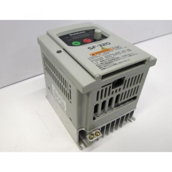 Sumitomo SF3204-A40-W 3 Phase AC Motor Drive Inverter VFD SF-320, 1/2HP 380/460V #5 image