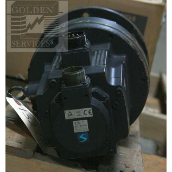 Mitsubishi HC-SFS102BG1 AC Servo Motor with Sumitomo CNVM-4115-6 Cyclo Drive #4 image