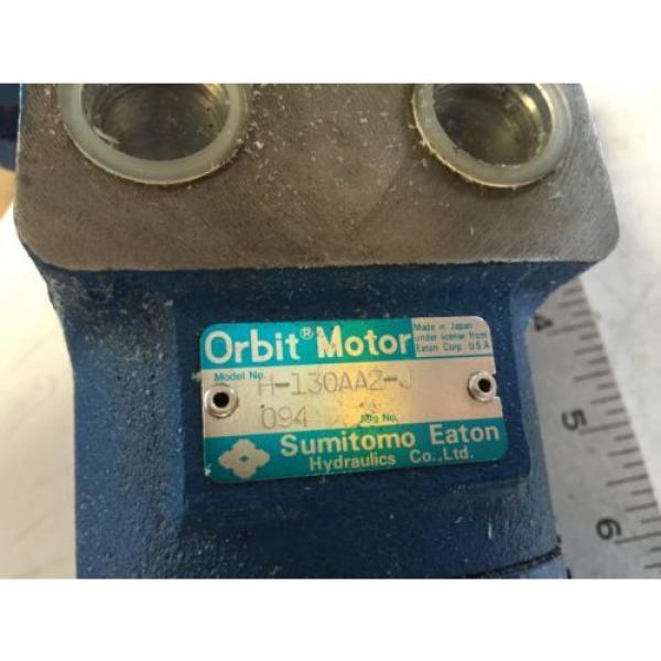 Origin OLD SUMITOMO/EATON H-130AA2-J ORBIT SEHYOO MOTOR HYDRAULIC MOTOR,BOXZC #2 image
