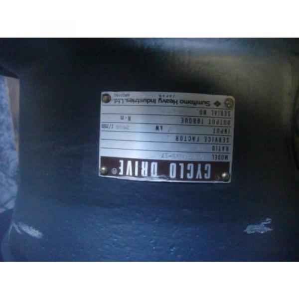 SUMITOMO HEAVY CYCLO GEARBOX   CHVM-4175-17 #2 image
