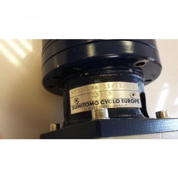Phytron RSH 80-200-10  amp;  Sumitomo Cyclo Europe XFCG 106-11/11/075 #3 image
