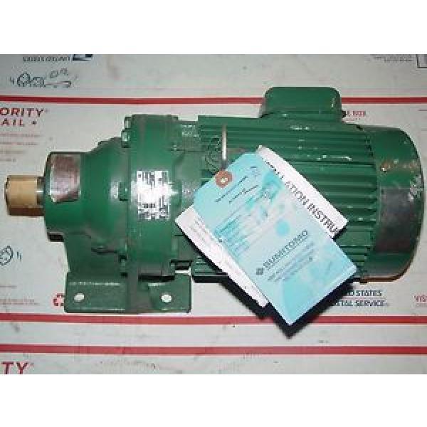 Sumitomo SM-Cyclo CNHM084097YB11 3/4 hp 3ph  11:1 ratio 1-1/8#034; output 159 rpm #1 image
