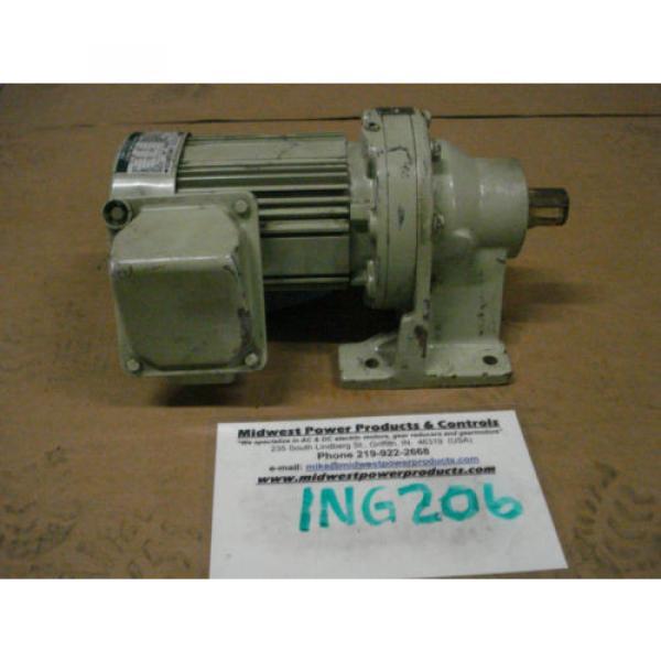 Sumitomo Cyclo gearmotor CNHMS-05-4095YC-29, 292 rpm, 29:1, 5hp, 230/460,inline #1 image