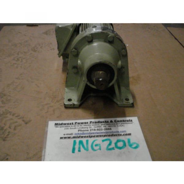 Sumitomo Cyclo gearmotor CNHMS-05-4095YC-29, 292 rpm, 29:1, 5hp, 230/460,inline #2 image