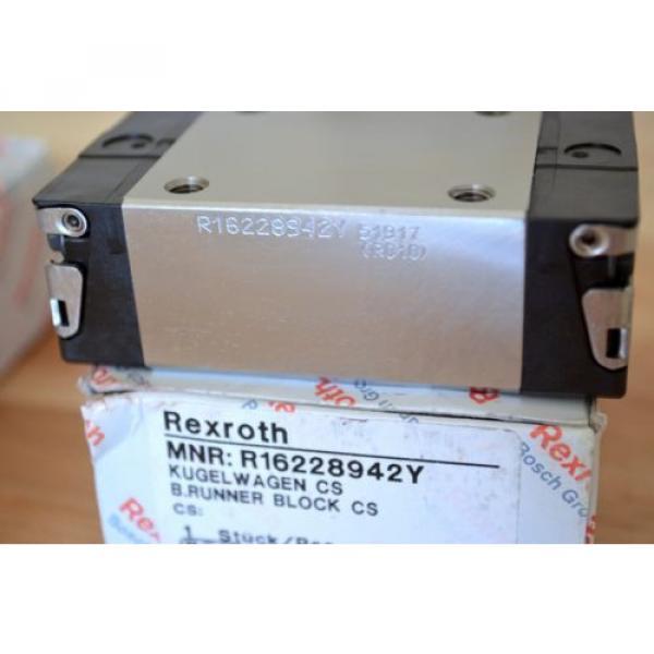 Origin Rexroth R16228942Y Size20 Linear Rail Bearing Runner Blocks - THK CNC Router #6 image
