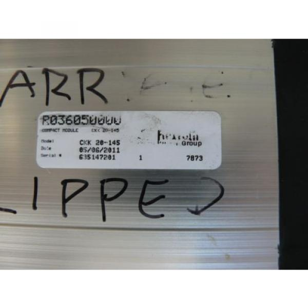 REXROTH CKK 20-145 COMPACT MODULE LINEAR MOTION SYSTEM WITH ALLEN BRADLEY #2 image