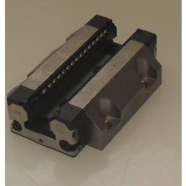 Rexroth STAR 20 1653-813-20 AA08N Linear Roller Guide Rail Block #1 image