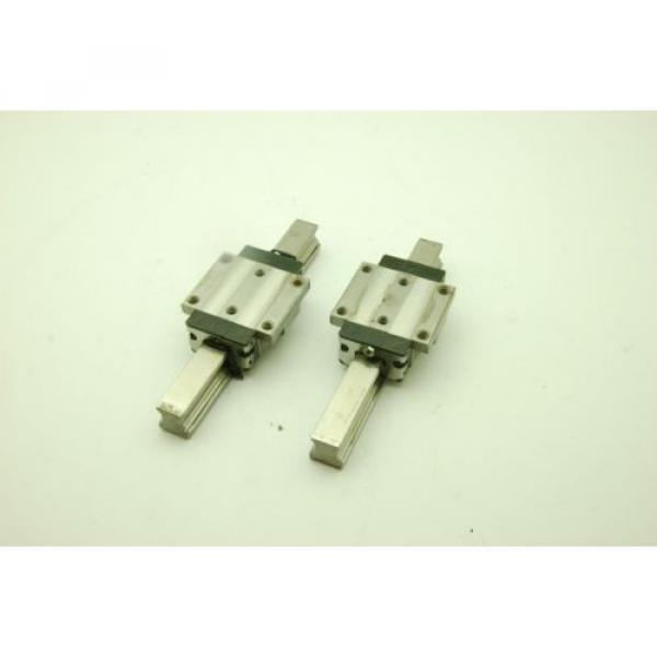 Rexroth Star Linear Motion Rail 200L,  2 Rails 2 Blocks #1 image
