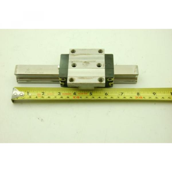 Rexroth Star Linear Motion Rail 200L,  2 Rails 2 Blocks #2 image