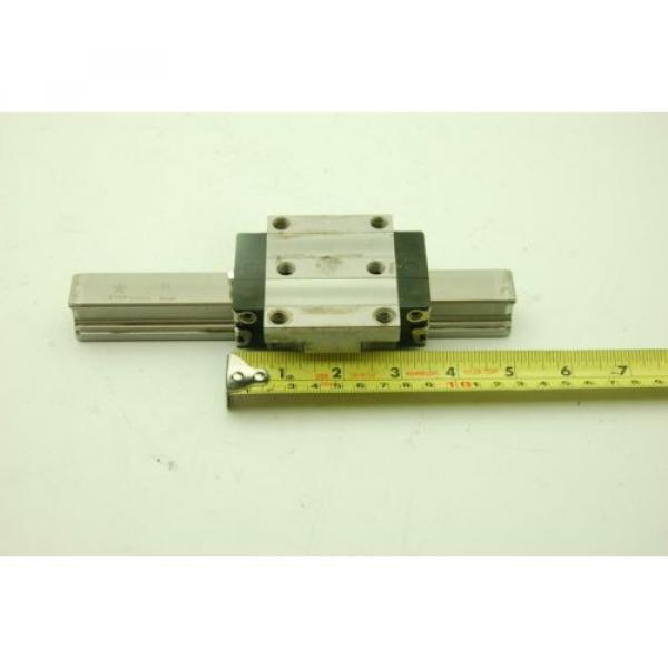 Rexroth Star Linear Motion Rail 200L,  2 Rails 2 Blocks #3 image