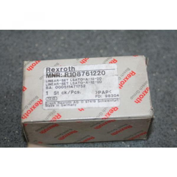 Rexroth Bosch R1087-612-20 Linear Bearing Block 12mm  R108761220   Origin #5 image