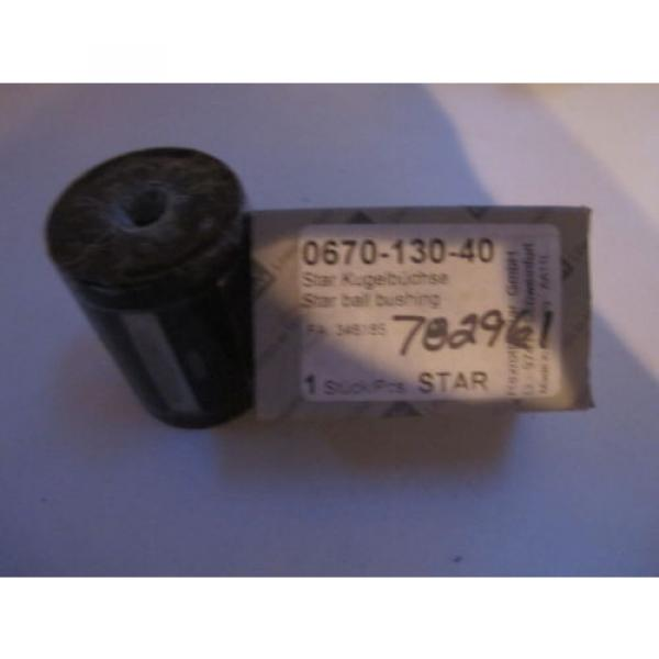 STAR Rexroth 30MM LINEAR SUPER BALL bushing BEARINGS 0670-130-40 Germany #3 image