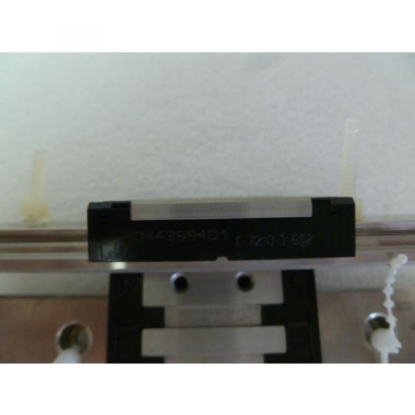 PAIR OF REXROTH R044389401 Linear Slide Rails 7210 4 INCH #2 image