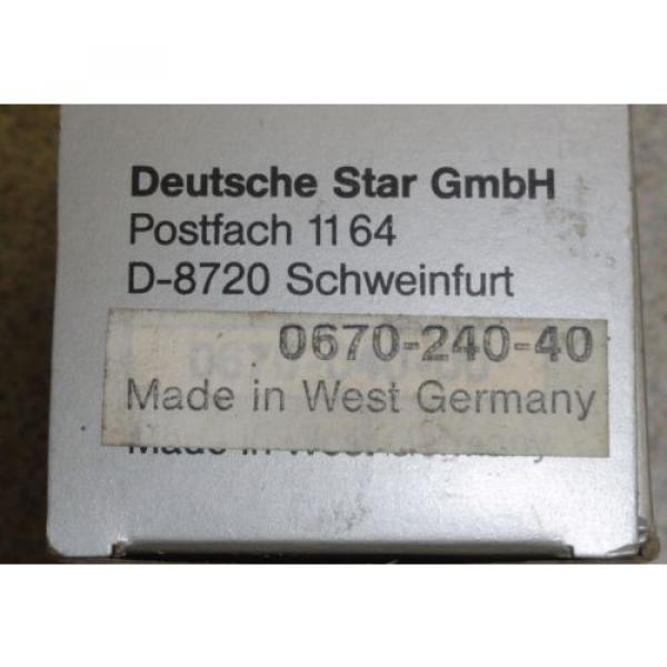 Rexroth/Star  0670-240-40 Linearkugellager f 40-er Welle 40x62x80mm R067024040 #3 image