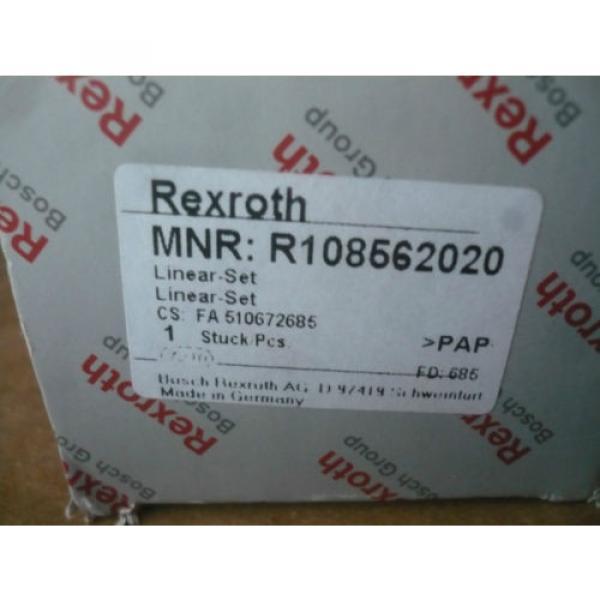 origin Rexroth Bosch R108562020 Linear #3 image