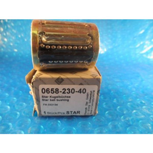 Star, Rexroth 0658-230-40, Compact Linear Bushing #1 image