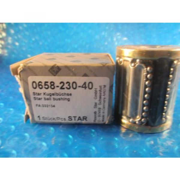 Star, Rexroth 0658-230-40, Compact Linear Bushing #2 image